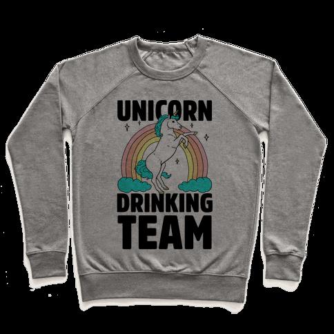 Unicorn Drinking Team Pullover