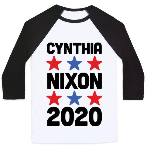 Cynthia Nixon 2020 Baseball Tee