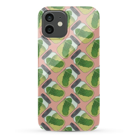 Perfect Pickle Pattern Phone Case