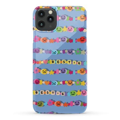 Bestie Friendship Bracelet Pattern Phone Case