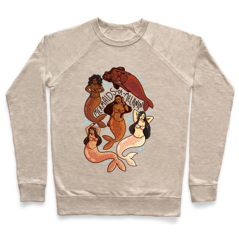 SFW Mermaids of Melanin Pullover