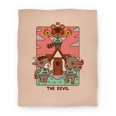 The Devil Tom Nook Blanket
