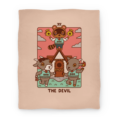 The Devil Tom Nook Blanket