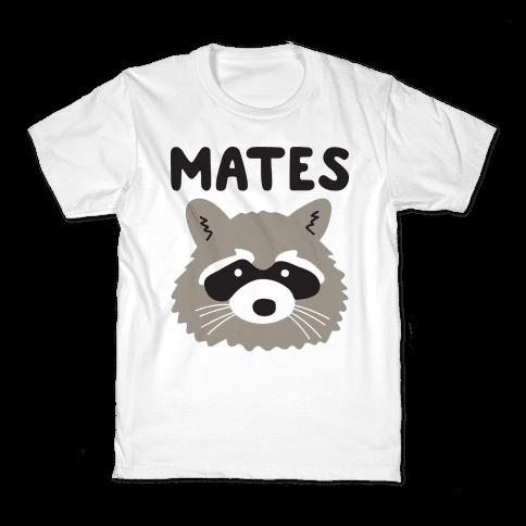 Trash Mates Pair - Raccoon 2/2 Kids T-Shirt