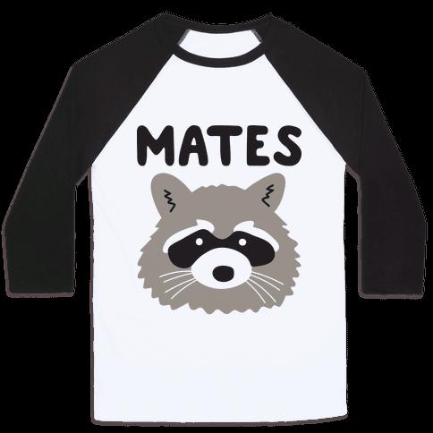 Trash Mates Pair - Raccoon 2/2 Baseball Tee