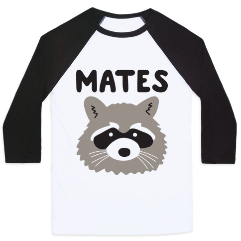 Trash Mates Pair - Raccoon 2/2 Baseball Tee