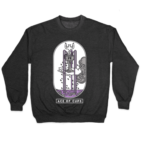 Ace of Cups Asexual Pride Pullover