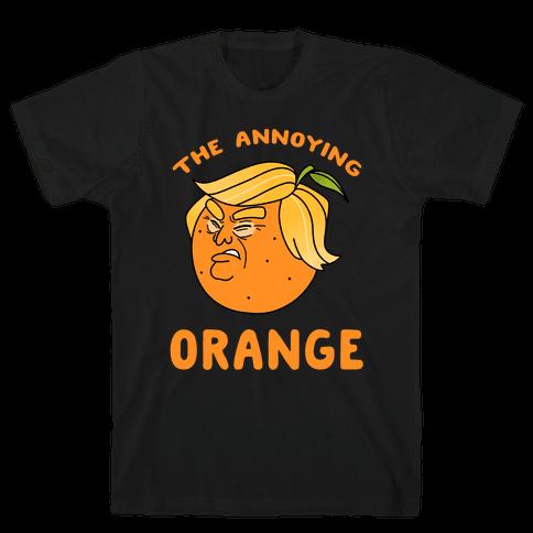 The Annoying Orange Mens/Unisex T-Shirt