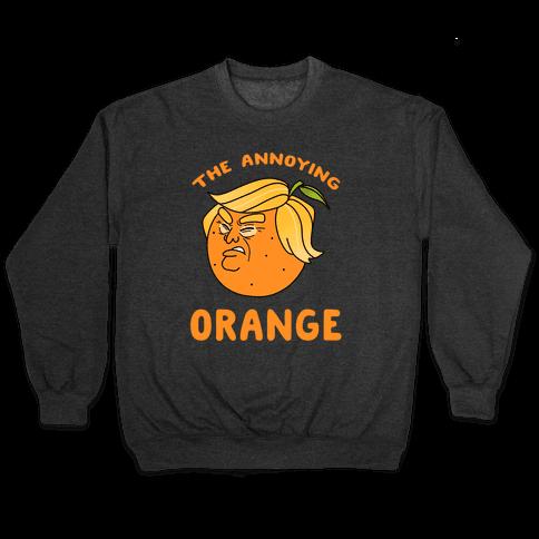The Annoying Orange Pullover