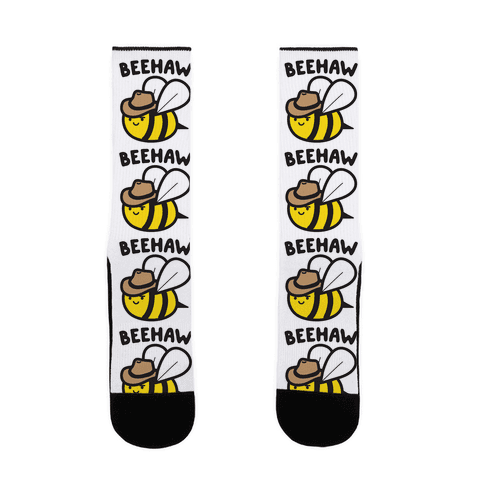 Beehaw Cowboy Bee Sock