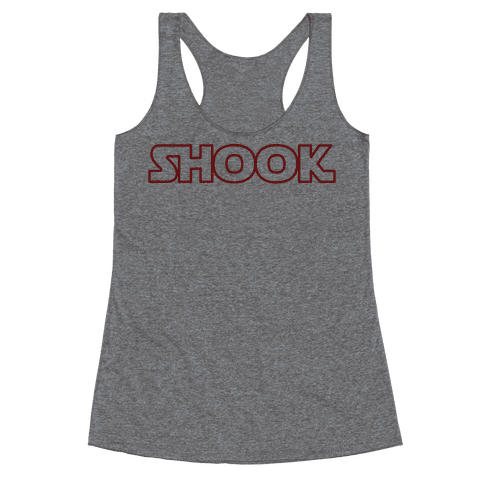Shook Parody Racerback Tank Top