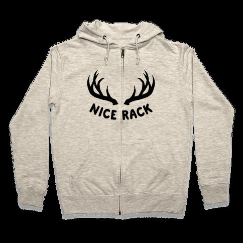 Nice Rack Zip Hoodie