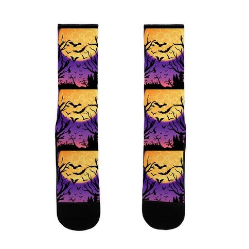 Spooky Nights Sock