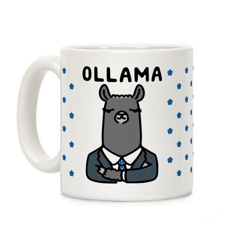 Ollama Parody Coffee Mug