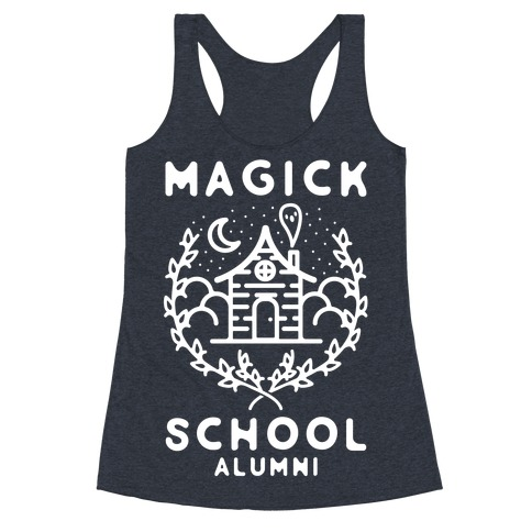 Magick School Alumni Racerback Tank Top