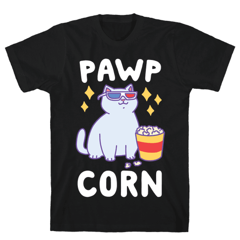 Pawpcorn Mens T-Shirt
