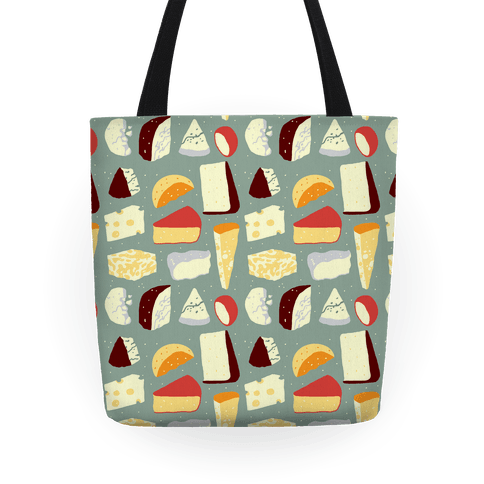 Cheese Pattern Tote