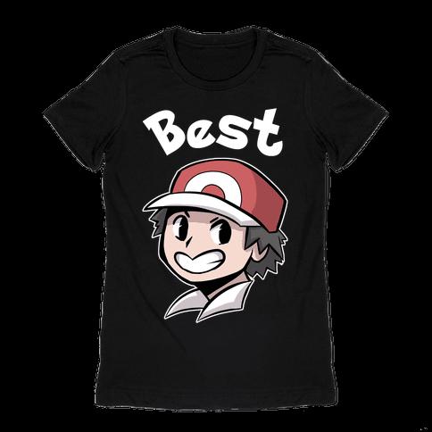 Best Frenemies (Red) Womens T-Shirt