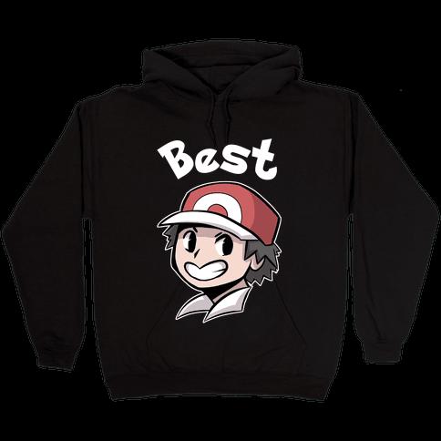 Best Frenemies (Red) Hooded Sweatshirt
