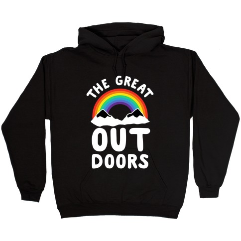 The Great OUT Doors Hooded Sweatshirt
