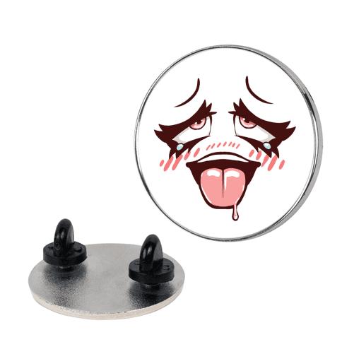 Ahegao Face Pin