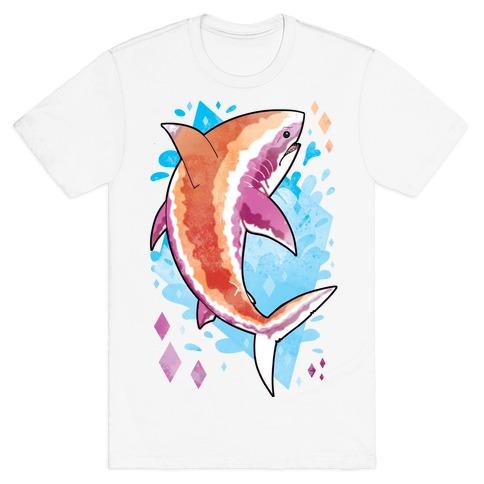 Pride Sharks: Lesbian T-Shirt
