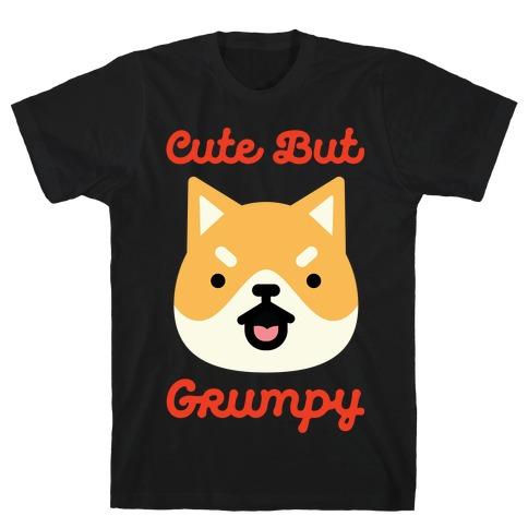 Cute but Grumpy Shiba Inu T-Shirt