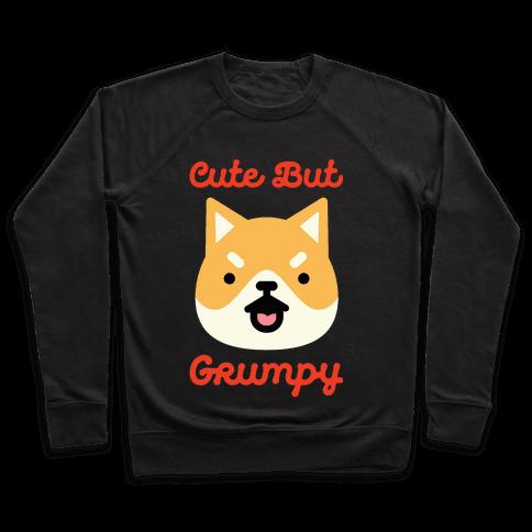 Cute but Grumpy Shiba Inu Pullover