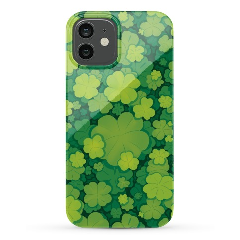 Clover Patch Pattern Phone Case