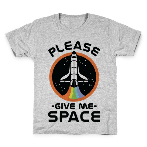 Please Give me space Kids T-Shirt