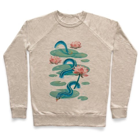 Garter Among Lily Pads Pullover