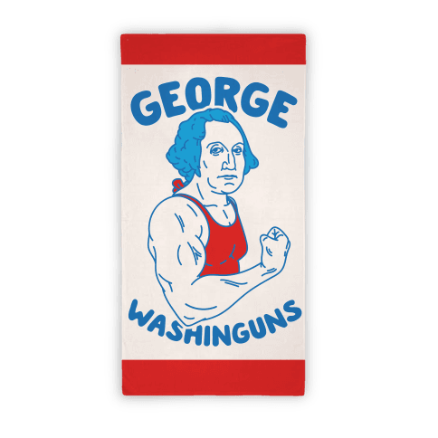 George Washinguns Beach Towel