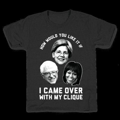 My Clique Warren Bernie Michelle Kids T-Shirt