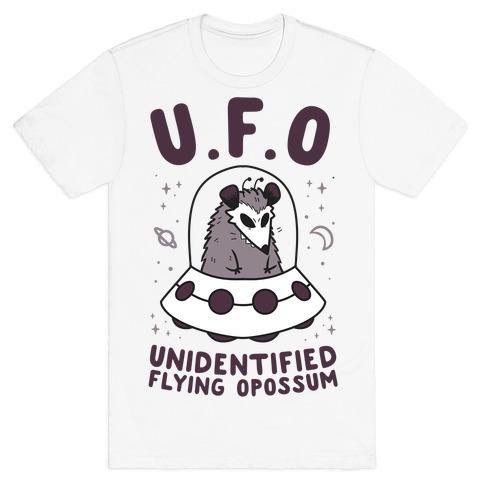 Unidentified Flying Opossum T-Shirt