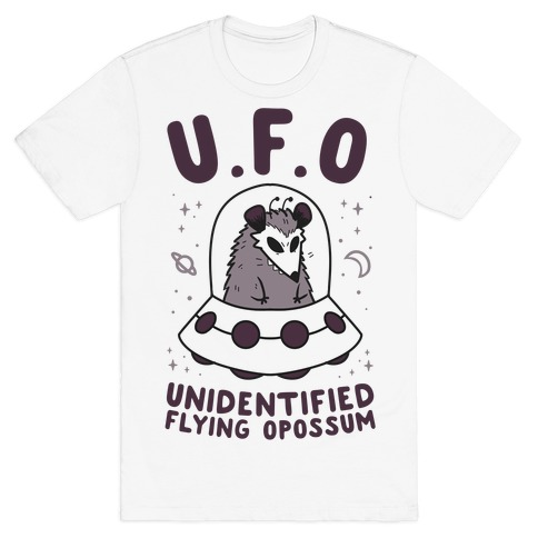 Unidentified Flying Opossum T-Shirt