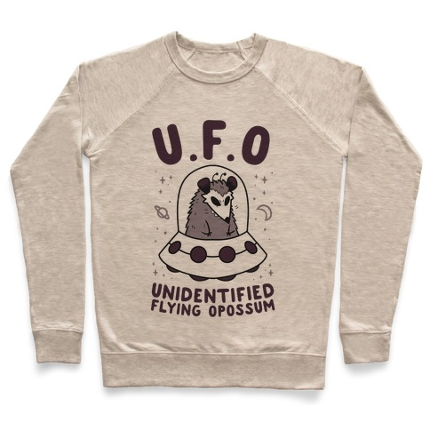 Unidentified Flying Opossum Pullover