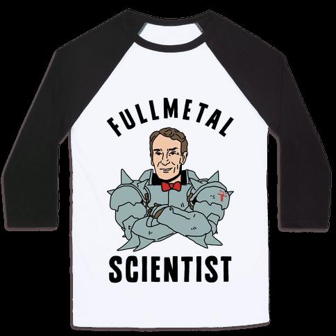 Fullmetal Scientist Baseball Tee