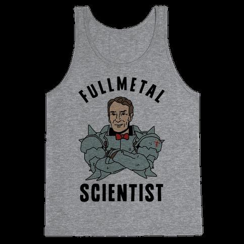 Fullmetal Scientist Tank Top
