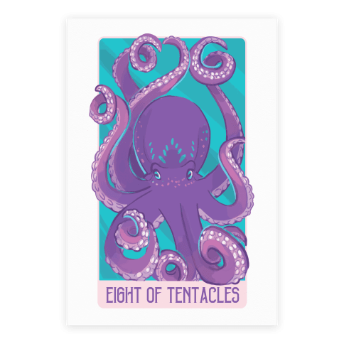 Eight of Tentacles  Poster