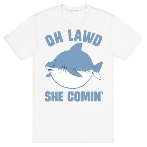 Shark Funny T Shirts Lookhuman