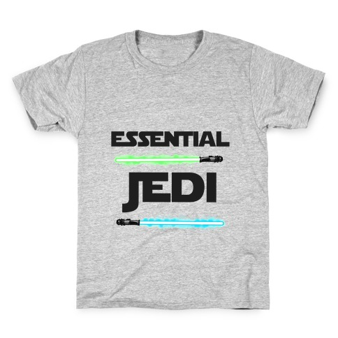 Essential Jedi Parody Lightsaber Kids T-Shirt