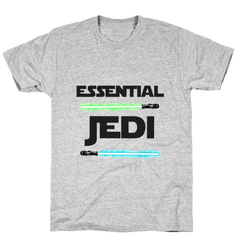 Essential Jedi Parody Lightsaber T-Shirt