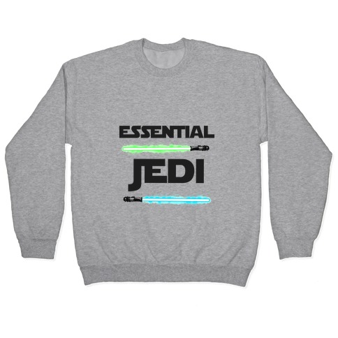 Essential Jedi Parody Lightsaber Pullover