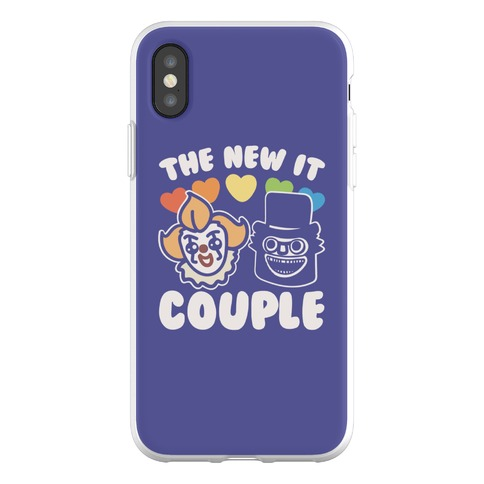 The New It Couple Parody Phone Flexi-Case