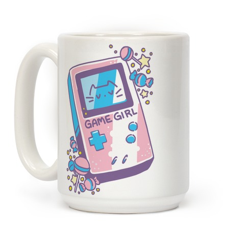 Game Girl - Trans Pride Coffee Mug