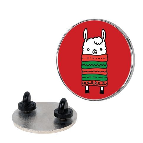 Long Llama Scarf Pin