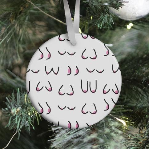 Doodle Boobs Ornament