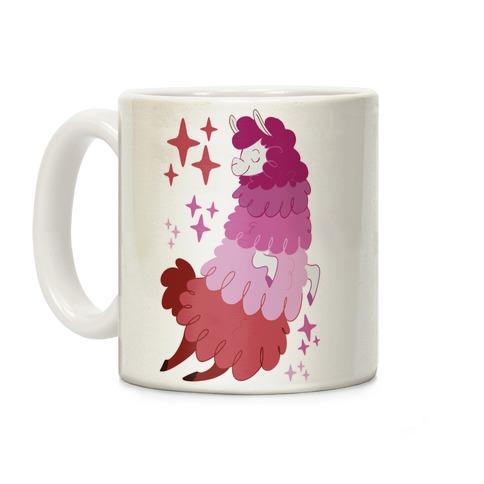 Lesbian Llama Coffee Mug