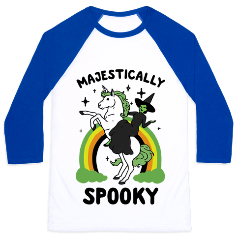 Majestically Spooky Baseball Tee