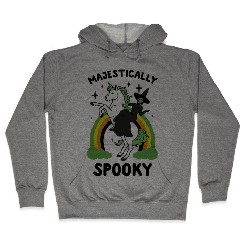 Majestically Spooky Hooded Sweatshirt